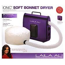 portable hair dryer walmart amazon com laila ali ladr5604 ionic soft bonnet dryer purple