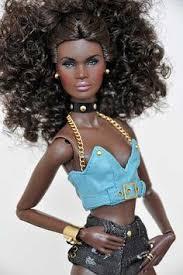 Seeking Doll Fashionistas Ken Doll Denim Stripes Blocked Green Check