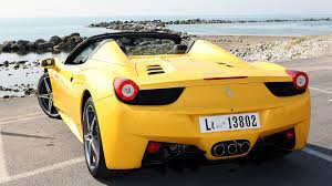ferrari yellow car hd wallpapers with ferrari in yellow color all ferrari cars