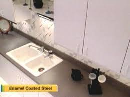 Enamel Sinks Kitchen Kitchen Sink Options Diy