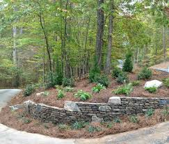 Raised Rock Garden by Outdoor Fire Pit Pickens Sc Raised Bed Gardens Garden Arbor