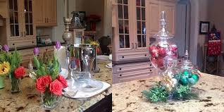 christmas decorating ideas for kitchen beautiful kitchen island decorating ideas photos interior design