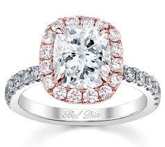 engagement rings pink images Cushion pink diamond halo engagement ring for white diamond jpg