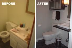 Half Bathroom Remodel by From Drab To Fab Bathroom Remodel Ikea Hackers Ikea Hackers