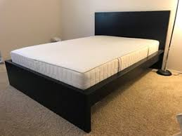 looking to sell full size ikea bed frame and memory foam mattress