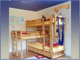 Person Bunk Bed Home Design Ideas - Three bunk bed