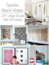 decorating a long wall decorating large walls large scale wall art ideas