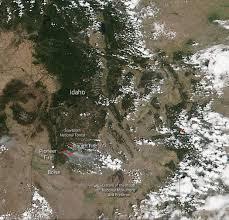 Idaho Fires Map Multiple Fires Blazing In Idaho U0027s Sawtooth National Forest Nasa