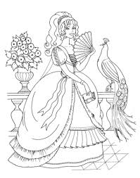 coloring princess gallery printable coloring
