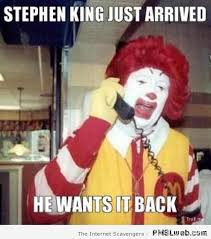 Stephen King Meme - stephen king humor dedicated to the master of horror pmslweb