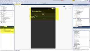 xamarin activity layout android layout issue in msvs pro 2017 xamarin forums