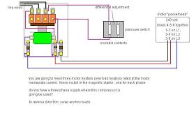 air pressor single phase wiring diagram wiring diagrams