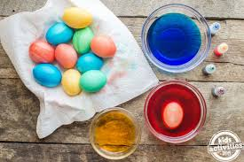 easter egg dyes how to dye easter eggs kids activities
