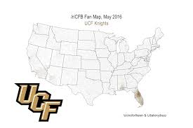 Central Florida Map by Which College Football Team Owns Central Florida
