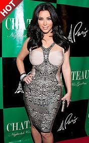 trends i love cheap herve leger kim kardashian combo lace dress