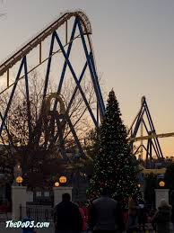 Nitro Six Flags Trip Report Six Flags Great Adventure Holiday In The Park Nov