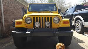 jeep lights kc hilites lights installation youtube