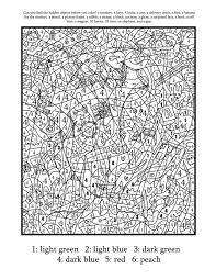 difficult color number printables wallpaper download