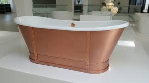 Freistehende Badewanne Freistehende Badewanne Prince Kupfer Retrobad
