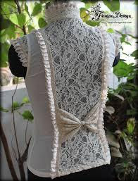 razzle top off white steampunk blouse steampunk fashion 101
