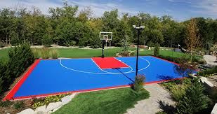 Best Backyard Basketball Court by Ice Rinks 360 Sports System U0026 Syngrass