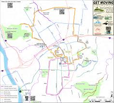 Map Running Route by Get Moving Map Asheville Parks And Greenways Foundation