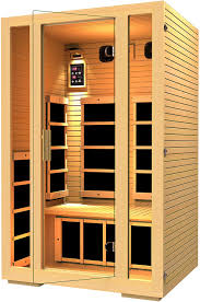 amazon com jnh lifestyles 2 person far infrared sauna 7 carbon