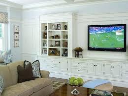 built in tv wall living room tv wall wall mount ideas for custom living room
