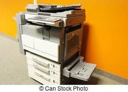 photocopieur bureau copieur bureau moderne isolé photocopieur fond image de
