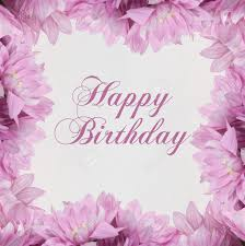 birthday flowers pictures happy birthday flowers on white background stock photo picture