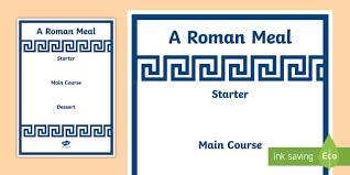 roman menu template roman menu template roman food roman