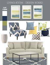 Blue And Yellow Bedroom by Blue Green U0026 Gray Living Room Living Rooms U0026 Great Rooms