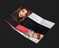 salon brochure templates free 28 images hair salon trifold