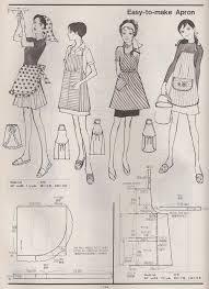 pattern drafting kamakura shobo exles of vintage aprons from the kamakura shobo publishing co