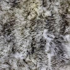 White Sheepskin Rugs Glacier Wear White With Black Tips Washable Sheepskin For Sale