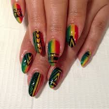 best 25 rasta nails ideas on pinterest bob marley nails rasta