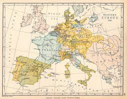 Ancient Europe Map by Atlas Of European History Wikimedia Commons