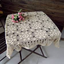 Table Cloths For Sale Cotton Square Crochet Tablecloth Online Cotton Square Crochet