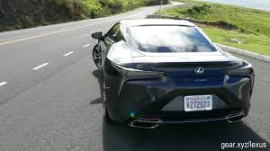 lexus paper sedan 2018 lexus lc 500 first drive ground breaking luxury coupe lets