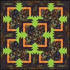 sliced pineapple christmas tree skirt quilt pattern