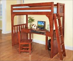 Metal Frame Loft Bed With Desk Bedroom Awesome Twin Bed Desk Combo Bunk Bed With Sofa And Desk