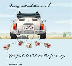 wedding wishes new journey just started on the journey free congratulations ecards greeting