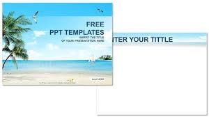 powerpoint templates free download ocean free beach templates etame mibawa co
