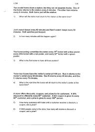 Kumon Sample Worksheets Worksheet Least Common Factor Laurelmacy Worksheets For