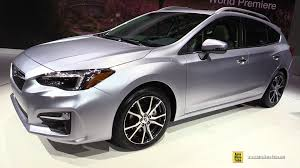 hatchback subaru 2017 2017 subaru impreza exterior and interior walkaround debut at