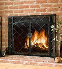 cool design fireplace screen doors tsrieb com