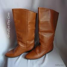 cowboy boots uk leather vintage nine flat pixie boots leather size 5 5 m eur 35 5
