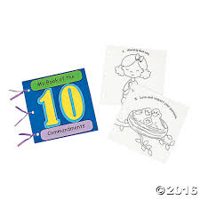 my book of the 10 commandments u201d craft kit bible kids will