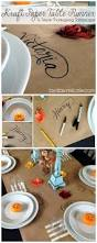 define thanksgiving kraft paper table runner paper table kraft paper and thanksgiving