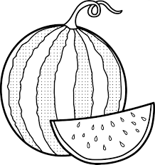 elegant watermelon coloring page 23 with additional coloring pages